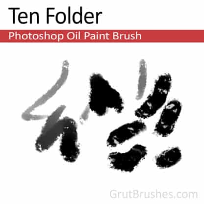 Ten Folder - Photoshop Oil Brush