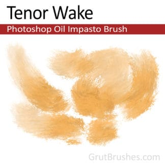 Tenor Wake - Impasto Oil Photoshop Brush