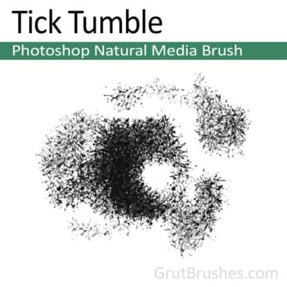 Tick Tumble - Photoshop Natural Media Brush