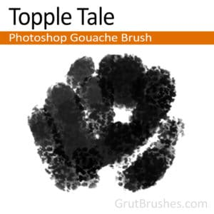 Topple Tale - Photoshop Gouache Brush