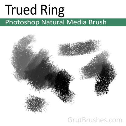 Photoshop Natural Media for digital artists 'Trued Ring'