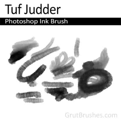 Photoshop Ink Brush for digital artists 'Tuf Judder'
