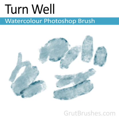 Photoshop Watercolor for digital artists 'Turn Well'