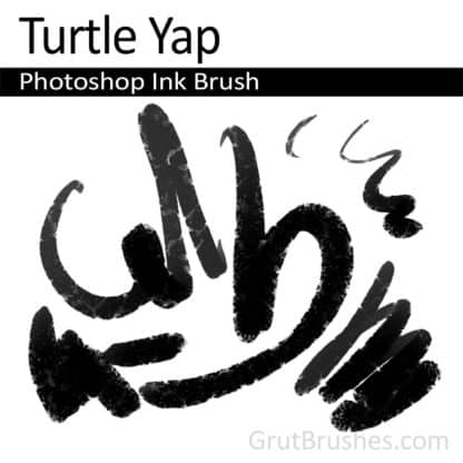 Turtle Yap - Photoshop Ink Brush