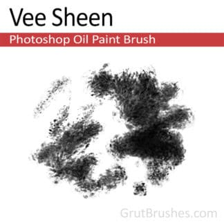 Photoshop Oil Brush for digital artists 'Vee Sheen'
