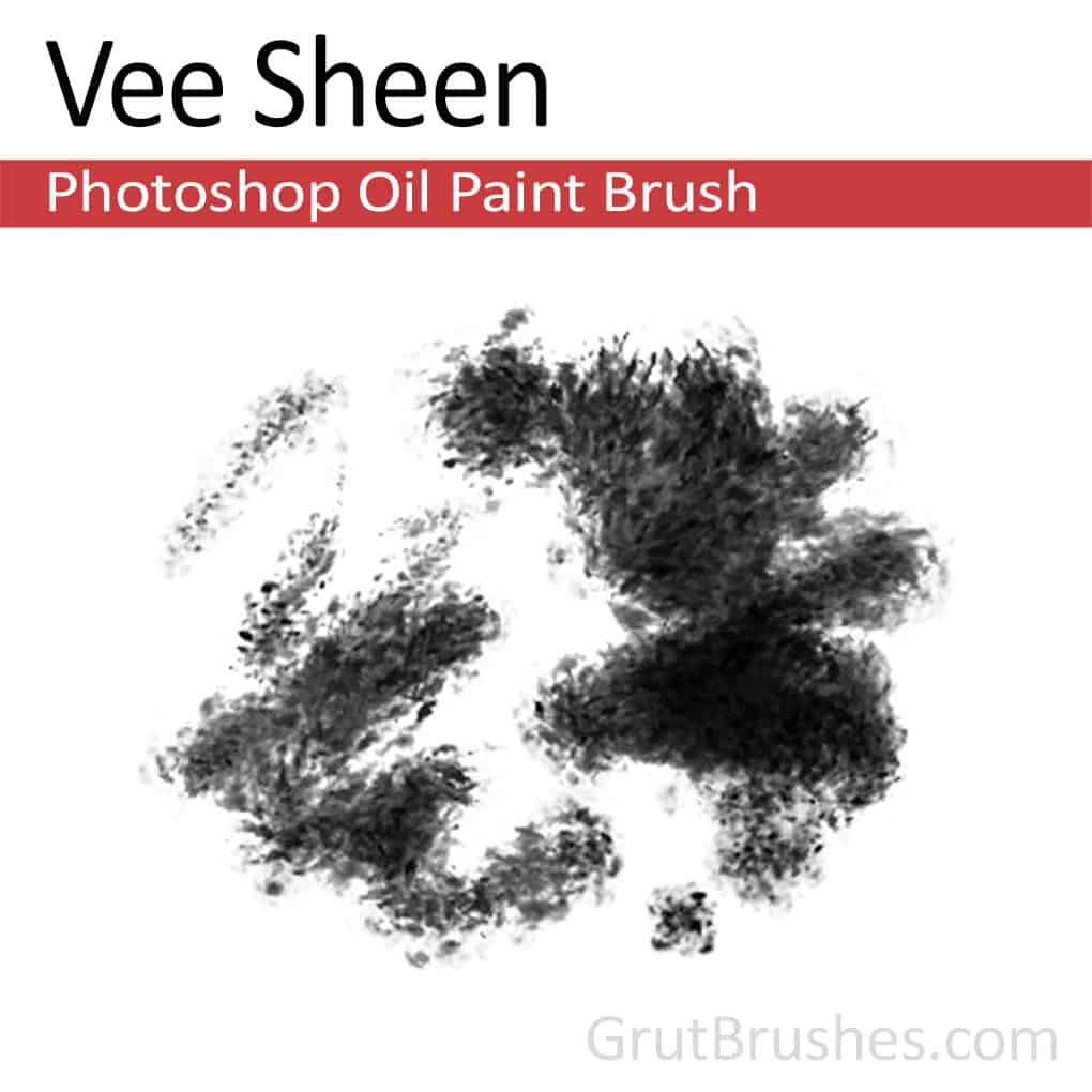 Photoshop Oil Brush for digital artists 'Vee Sheen'