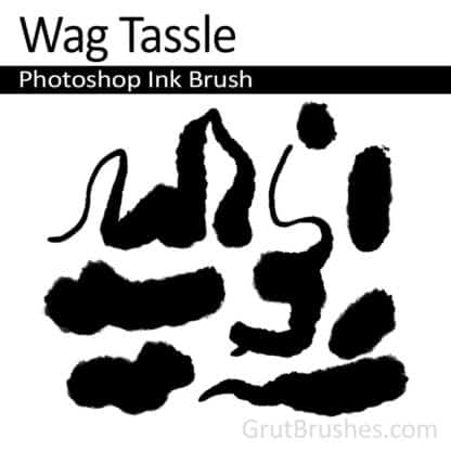 Wag Tassle - Photoshop Ink Brush