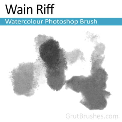 Wain Riff - Photoshop Watercolor Brush
