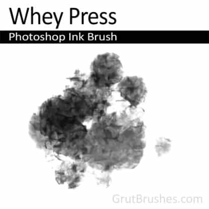 Whey Press - Photoshop Ink Brush