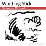 Whittling-Stick-Photoshop-Oil-Brush