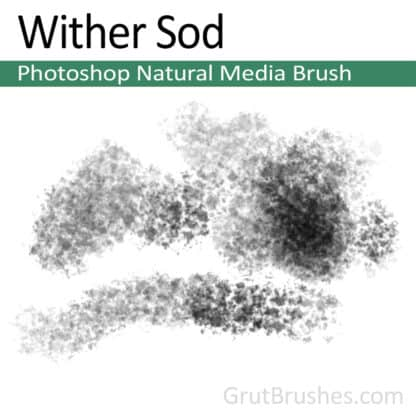 Wither Sod - Photoshop Natural Media Brush