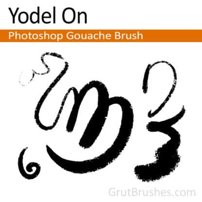 Yodel On - Photoshop Gouache Brush