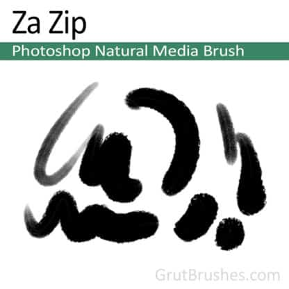 Za Zip - Photoshop Natural Media Brush