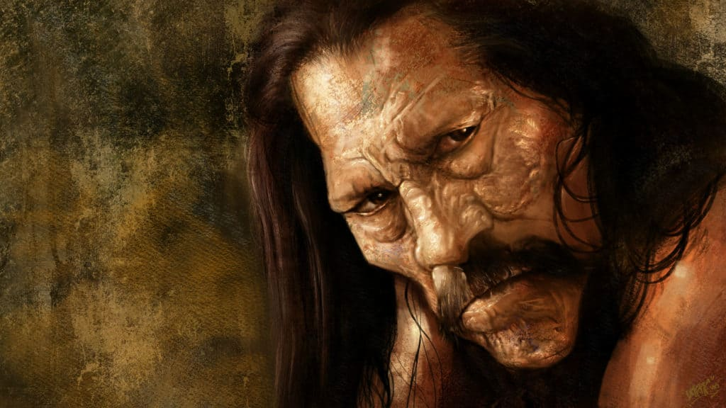 Digital painting by Rafael Rivera