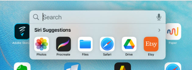 Files app icon with other icons on an iPad