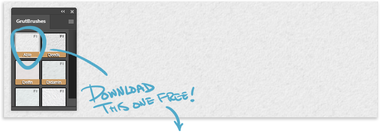 example of paper texture with an arrow pointing with 'download this free' text overlay