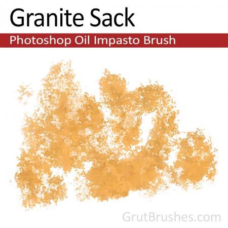 Granite Sack - Impasto Oil Photoshop Brush