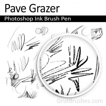 Pave Grazer - Photoshop Ink Brush