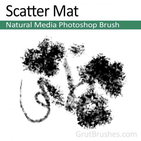 Scatter Mat - Photoshop Natural Media Brush