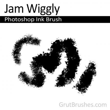 Jam Wiggly - Photoshop Ink Brush