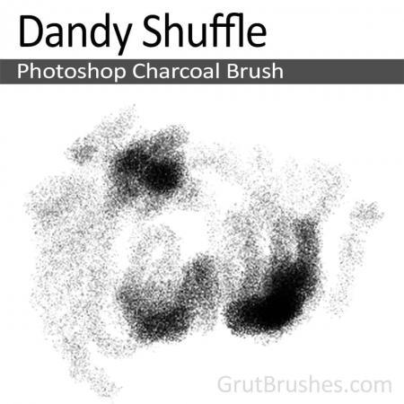 Dandy Shuffle - Photoshop Charcoal Brush