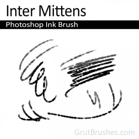 Inter Mittens - Photoshop Ink Brush