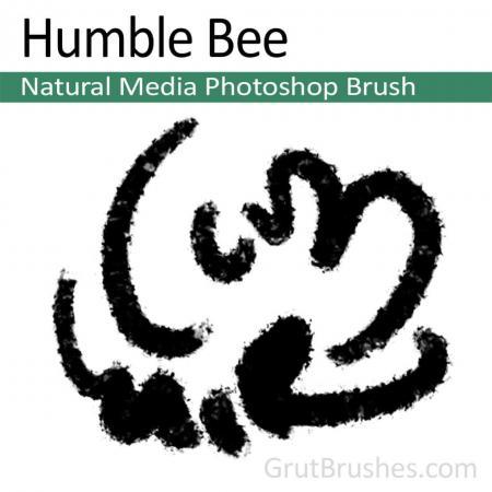 Humble Bee - Photoshop Natural Media Brush