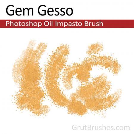Gem Gesso - Photoshop Impasto Oil Brush