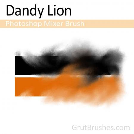 Dandy Lion - Photoshop Mixer Brush