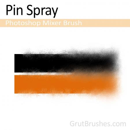 Pin Spray - Photoshop Mixer Brush