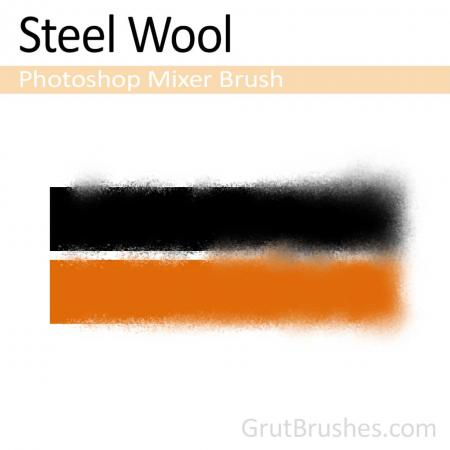 Steel Wool - Photoshop Mixer Brush