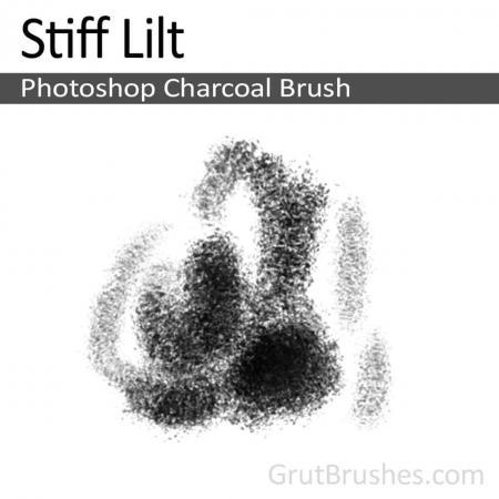 Stiff Lilt - Photoshop Charcoal Brush