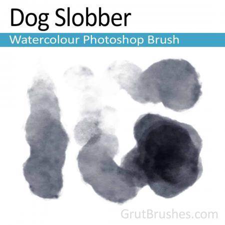 Dog Slobber - Photoshop Watercolor Brush