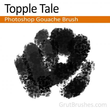 Topple Tale - Photoshop Gouache Brush