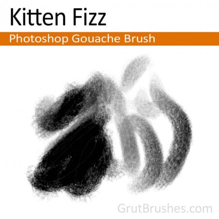 Kitten Fizz - Photoshop Gouache Brush