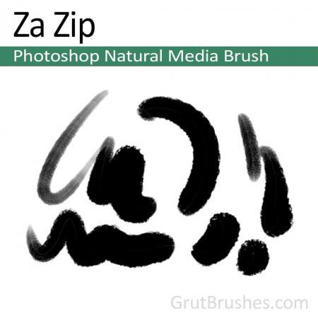 Za Zip - Photoshop Natural Media Brush