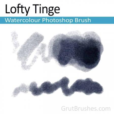 Lofty Tinge - Photoshop Watercolor Brush