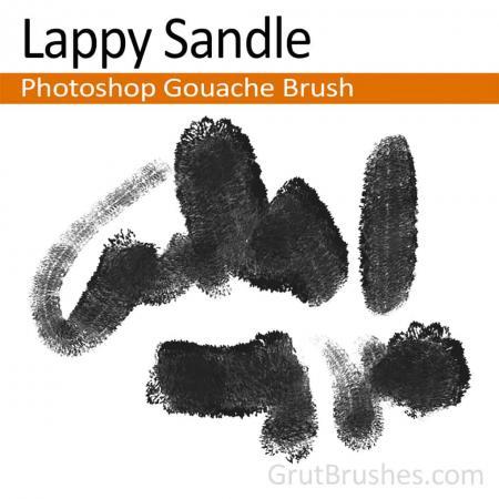 Lappy Sandle - Photoshop Gouache Brush