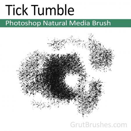 Tick Tumble - Photoshop Natural Media Brush