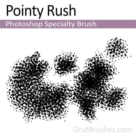 Pointy Rush - Photoshop Specialty Brush