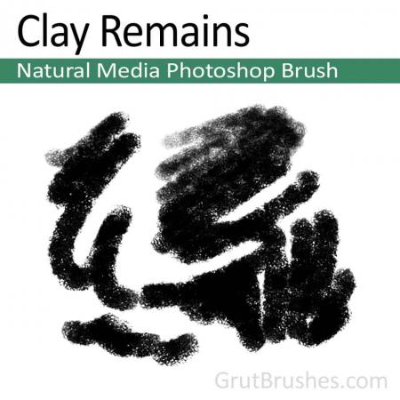 Clay Remains - Photoshop Pastel Brush