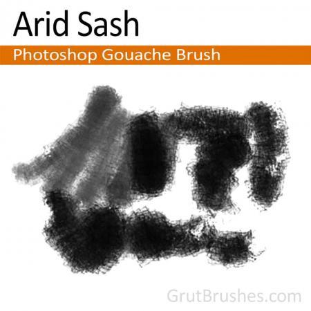 Arid Sash - Photoshop Gouache Brush