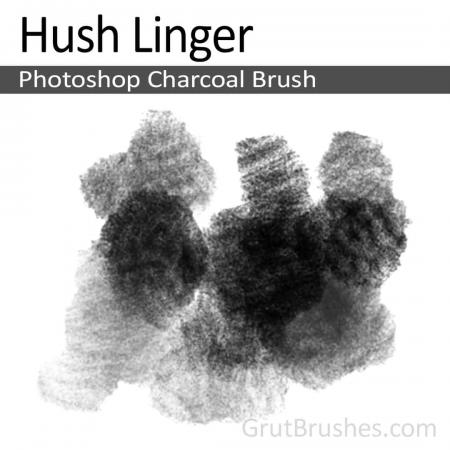 Hush Linger - Photoshop Charcoal Brush