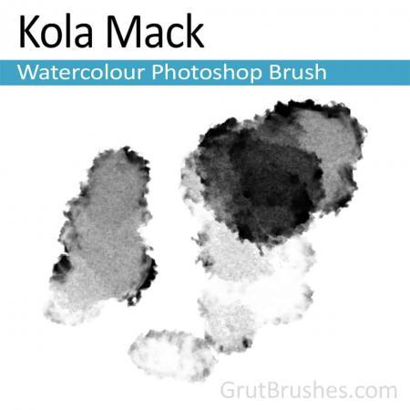 Kola Mack - Photoshop Watercolor Brush