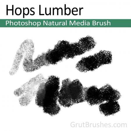 Hops Lumber - Photoshop Natural Media Brush