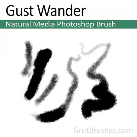 Gust Wander - Photoshop Natural Media Brush