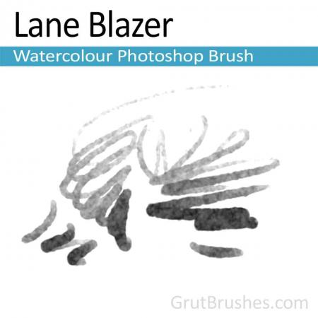 Photoshop Watercolor Brush for digital artists 'Lane Blazer'