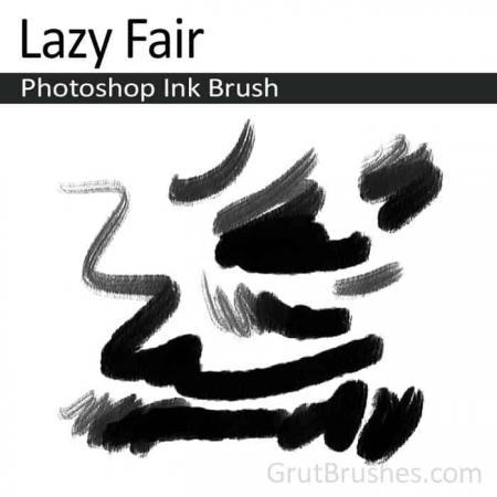 Lazy Fair - Photoshop Ink Brush