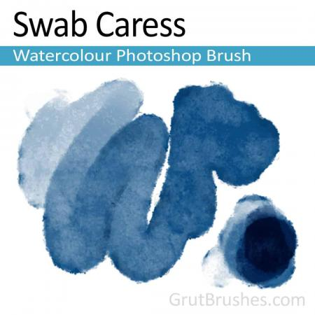 Swab Caress - Watercolour Photoshop Brush