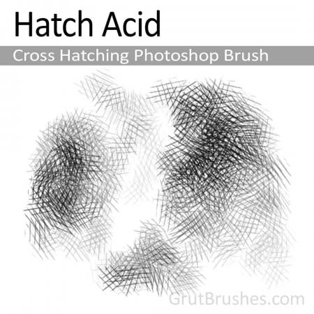 Hatch Acid - Photoshop Cross Hatching Brush